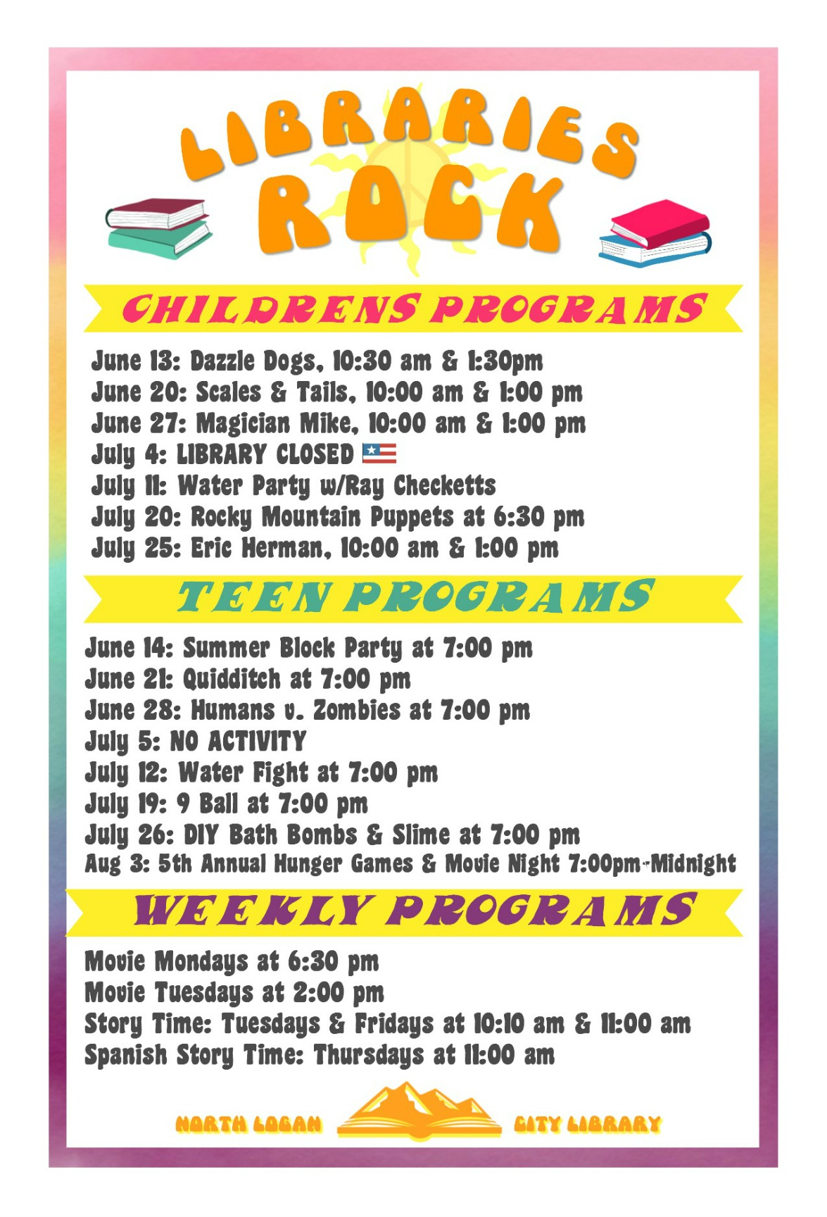 Summer Reading Programs and Activities