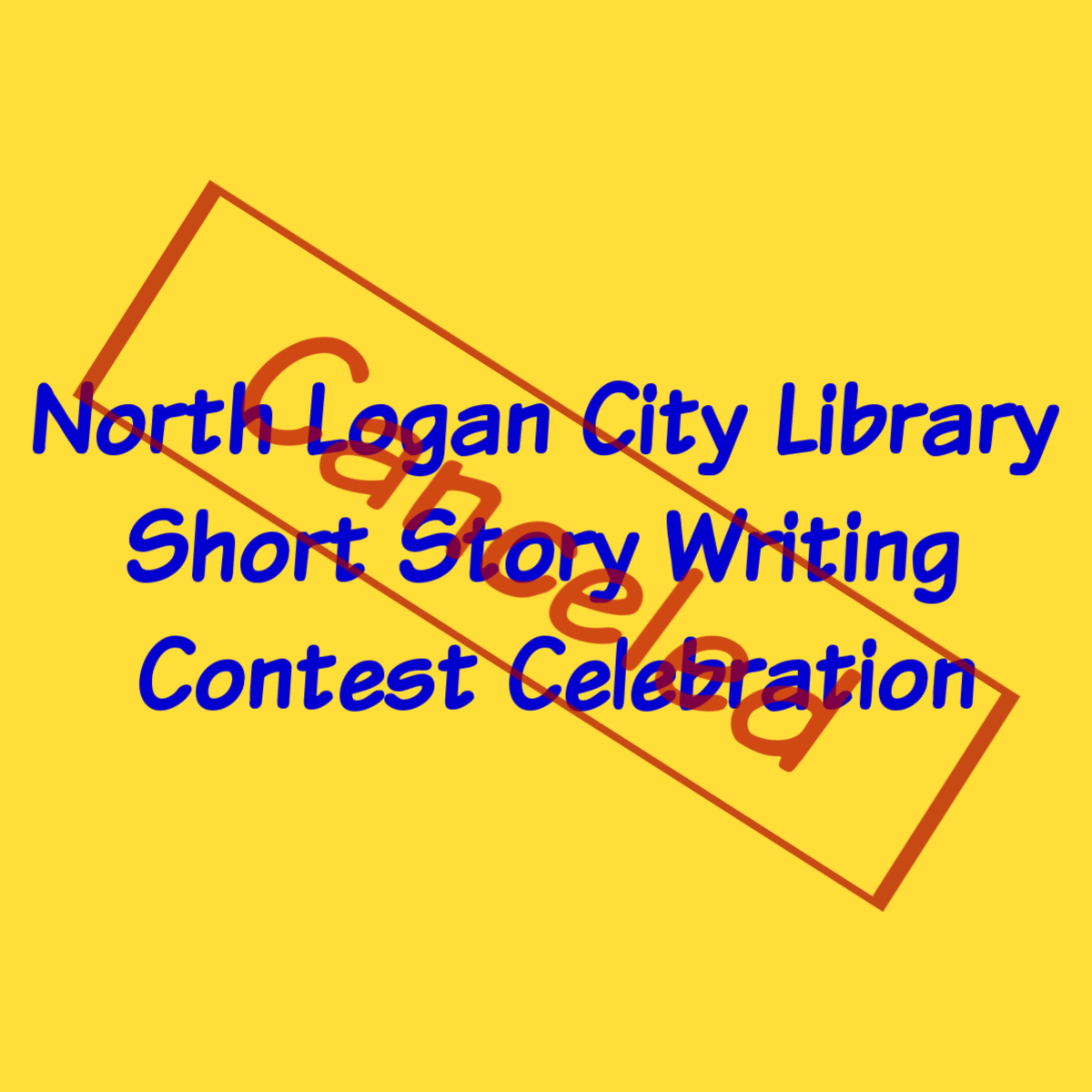 Writing Contest Celebration Canceled