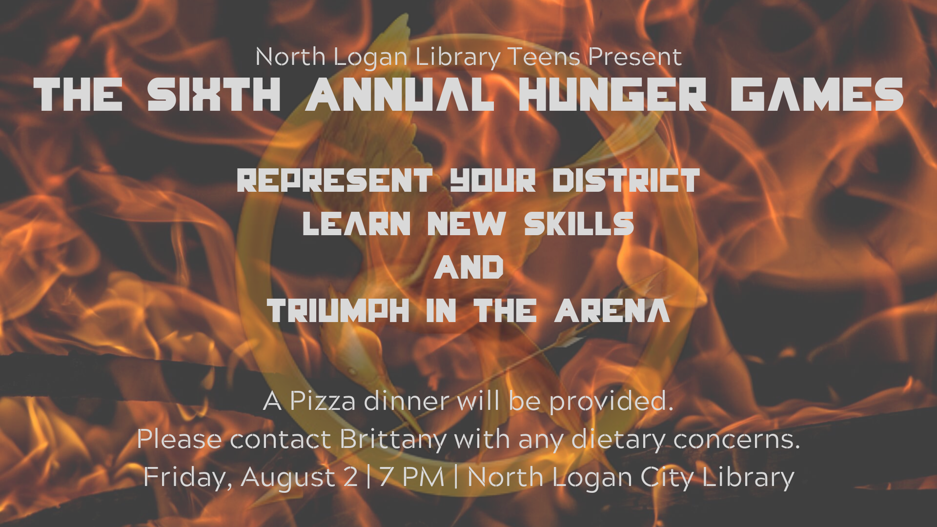 Sixth Annual Hunger Games