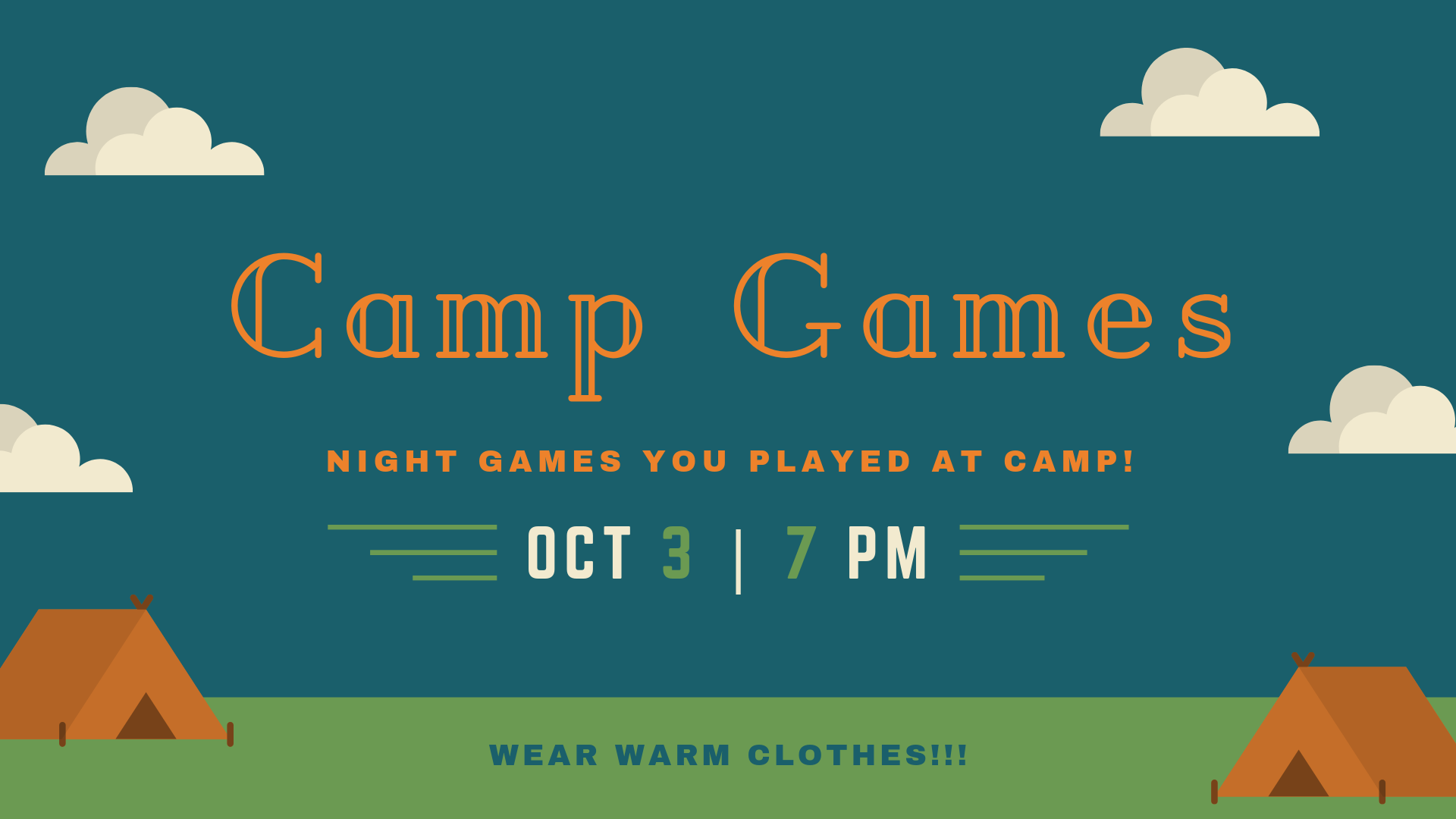 Camp Games Event