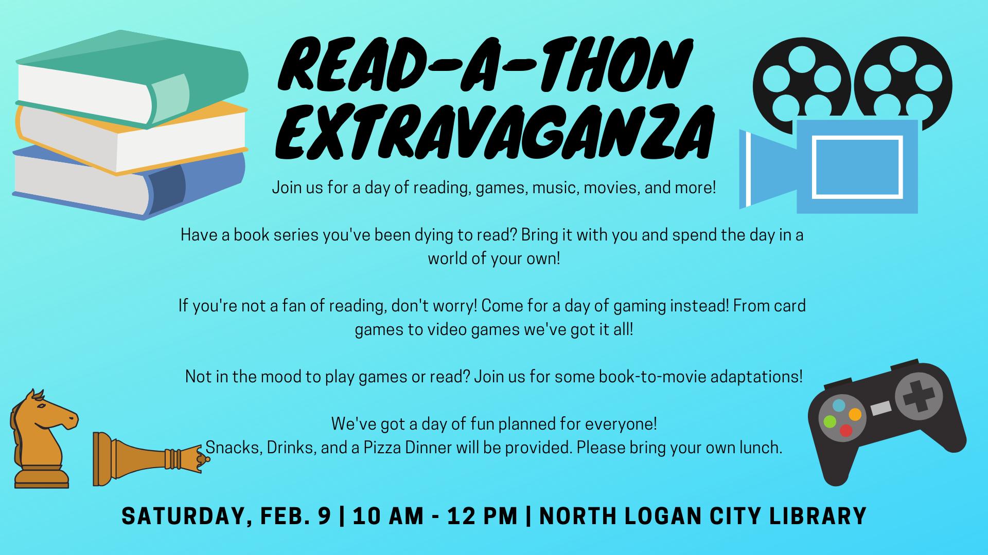 Read-A-Thon Extravaganza!