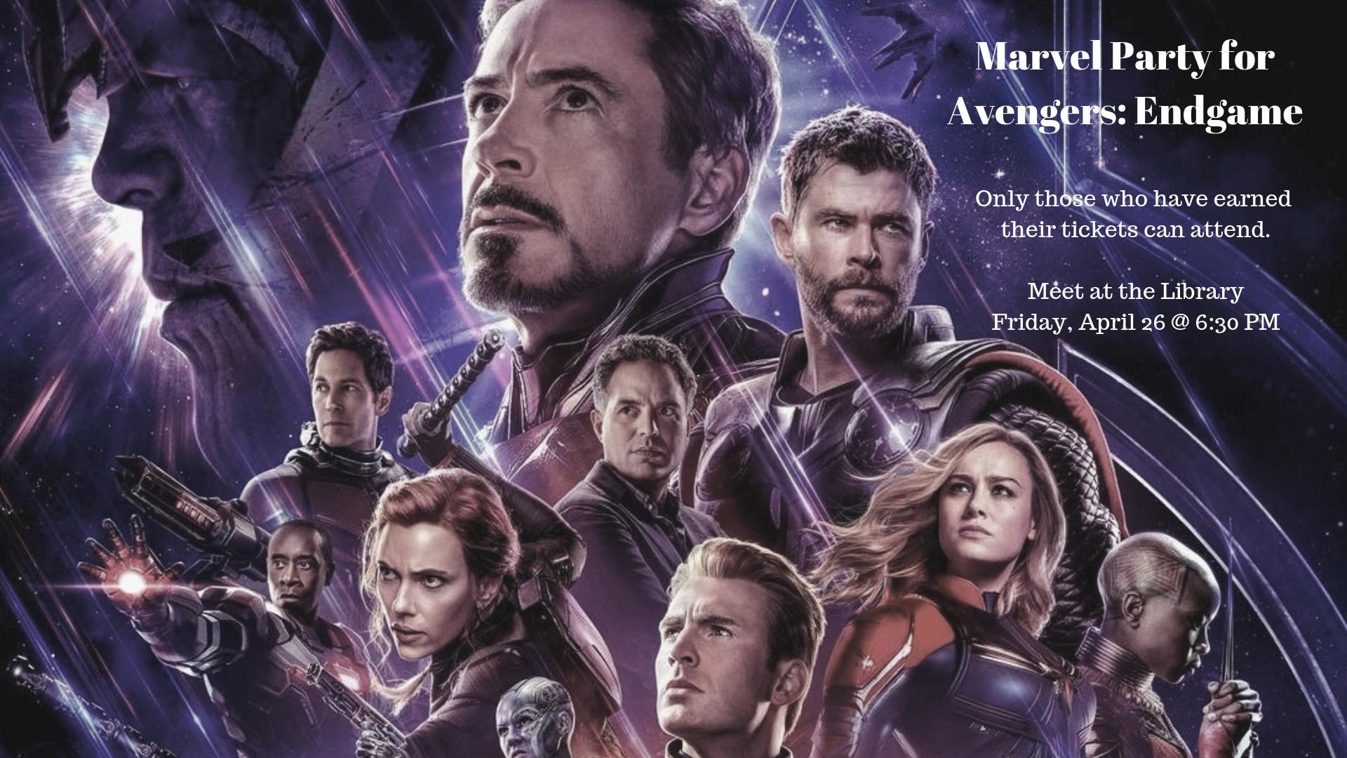 Marvel Party - Avengers: Endgame