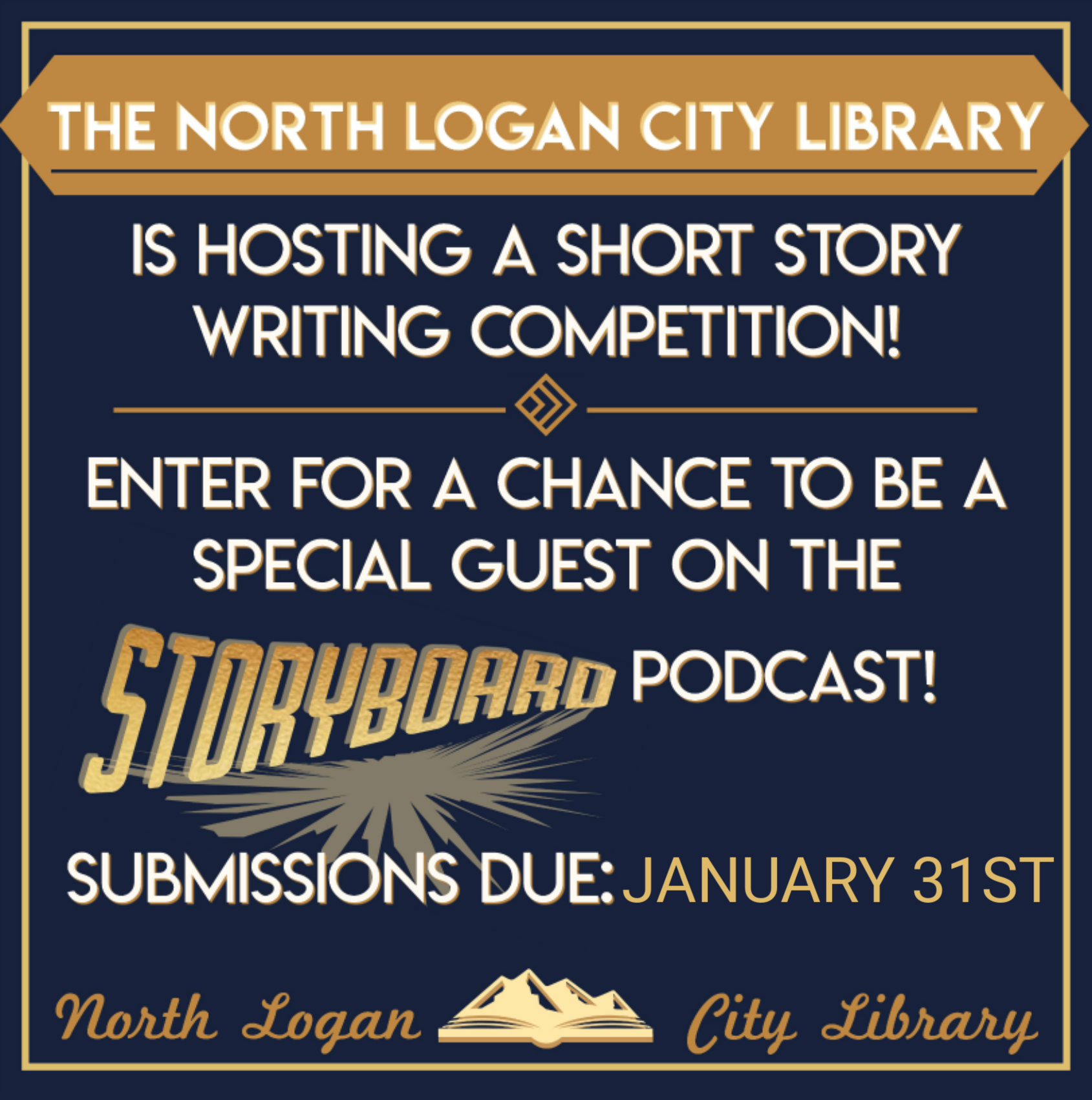 Short Story Writing Contest Due Date Announcement