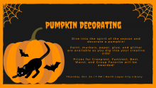 Pumpkin Decorating Event