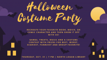 Halloween Costume Party Event