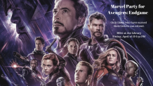 Marvel Party - Avengers: Endgame