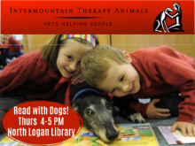 Reading with Dogs program for kids